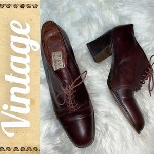 Vintage Nickels Dress Leather Heels